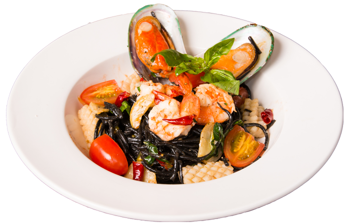 Spaghetti Black Ink Seafood