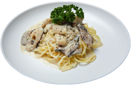 Chicken Mushroom in Cream Sauce